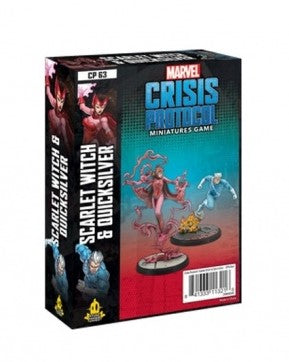 Marvel Crisis Protocol: Scarlet Witch and Quicksilver (Pre-order)