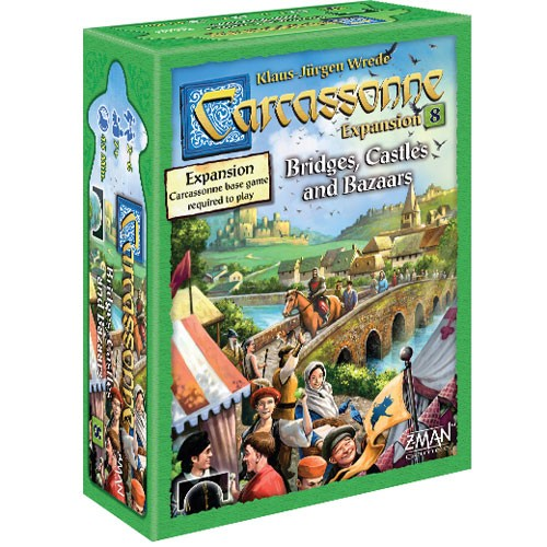 Carcassonne: Expansion 8 - Bridges, Castles, & Bazaars