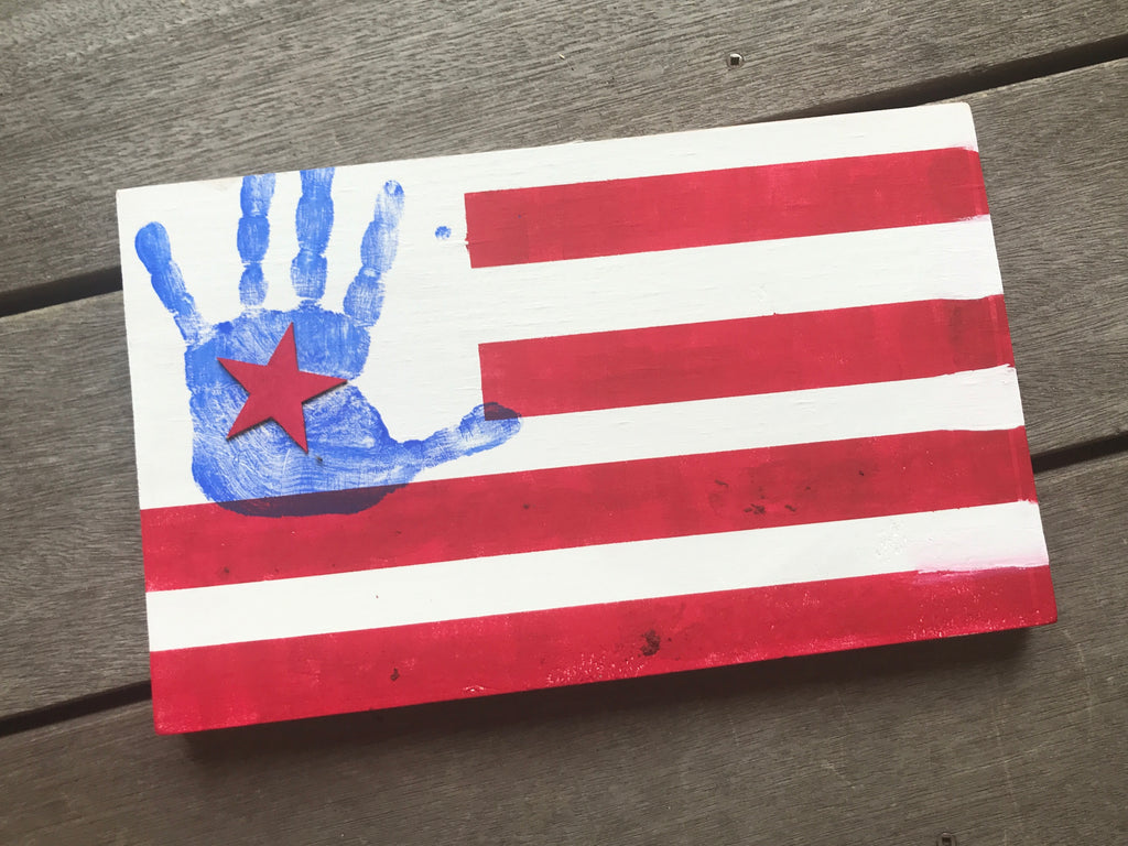 Handprint Flag DIY KIT