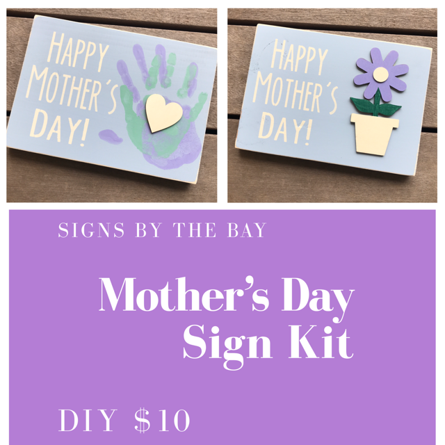 Mother's Day DIY Sign Kits