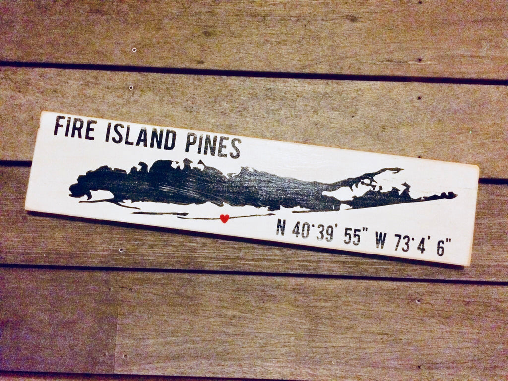 Fire Island Long Island Map