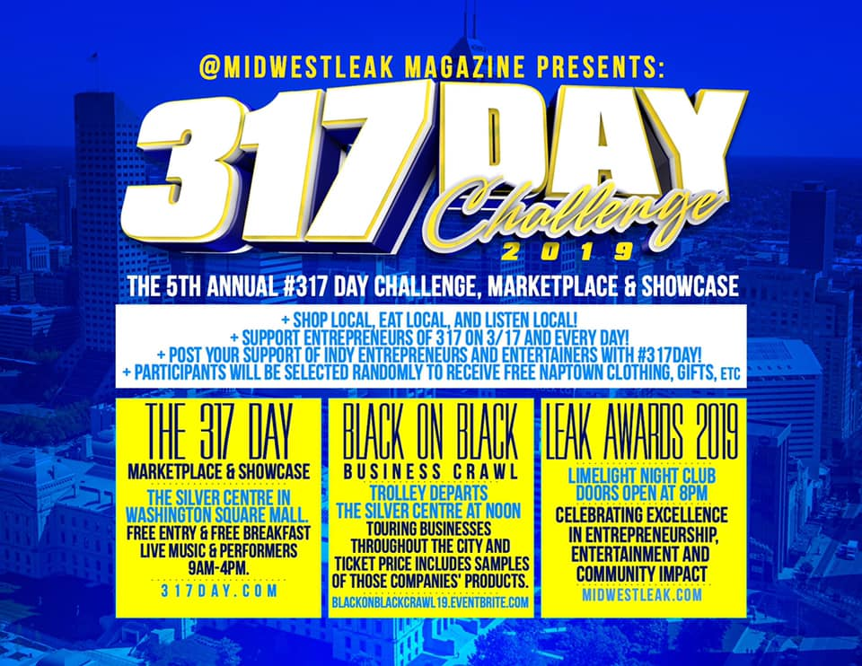 5th Annual 317 Day Challenge 2019
