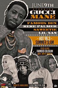 Gucci Mane, friends in Indy June 9