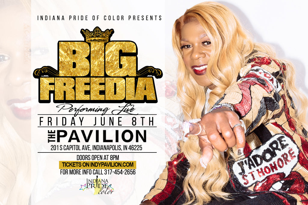 Big Freedia in Indy June 8