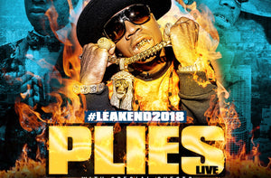 Plies Performing Live at #Leakend2018 (Day 1)