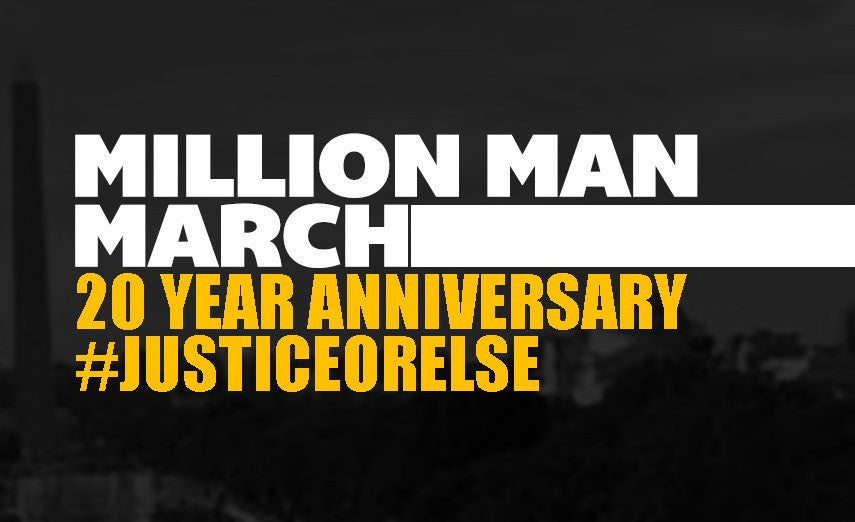 Million Man March 20th Anniversary