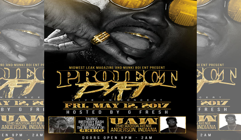 Project Pat Concert in Anderson, Indiana