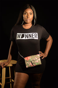 Indiana Winner Black Tee