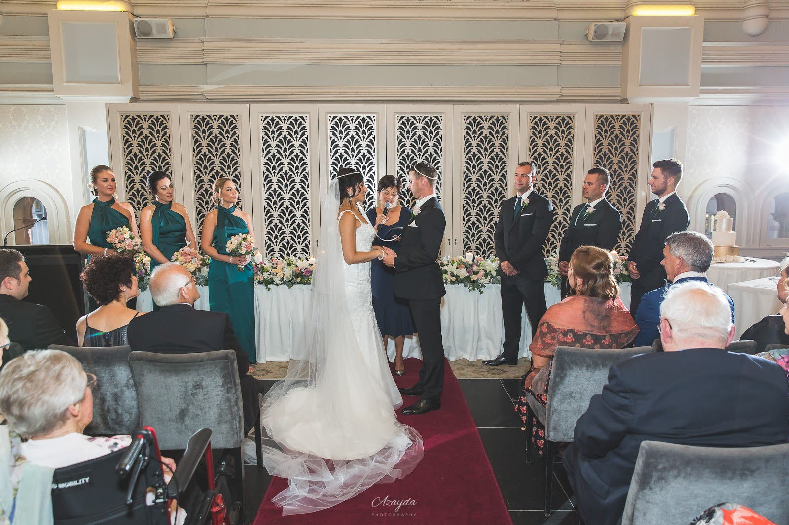 Angelique & Jack, The Tea Room QVB Wedding