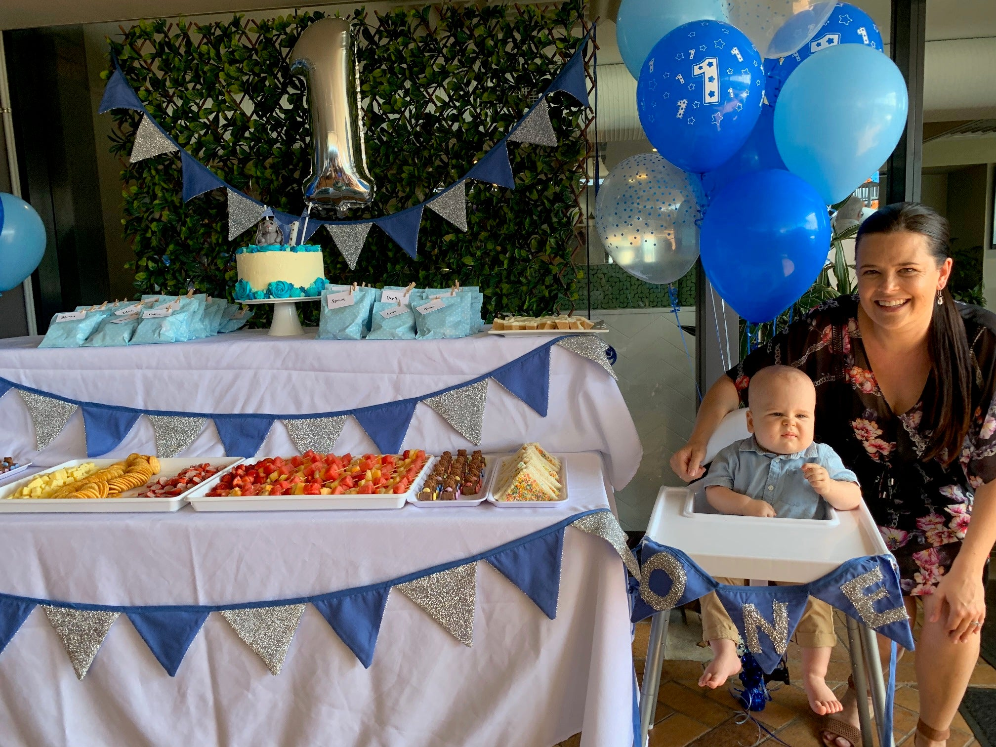 Calebs 1st Birthday, Taren Point Bowling Club