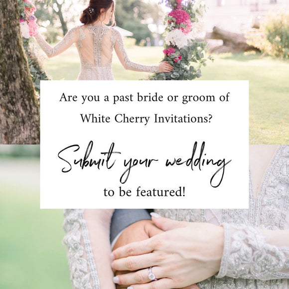 Feature Your Wedding