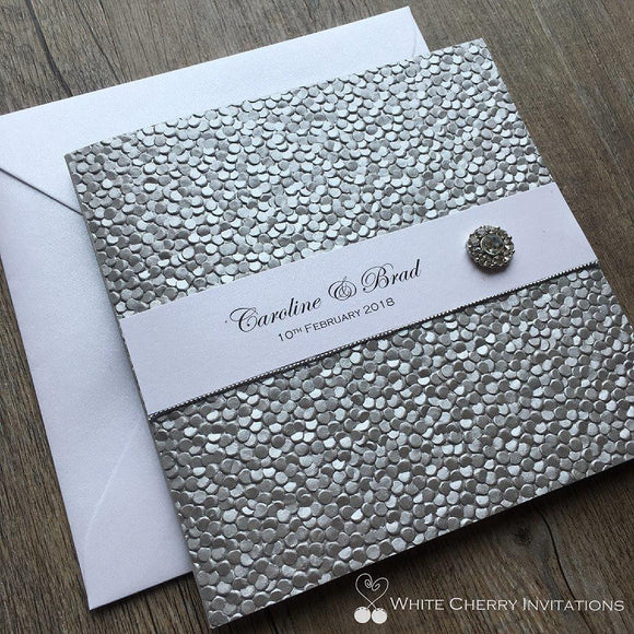 Crystal Silver Pebble - DELUXE PACKAGE