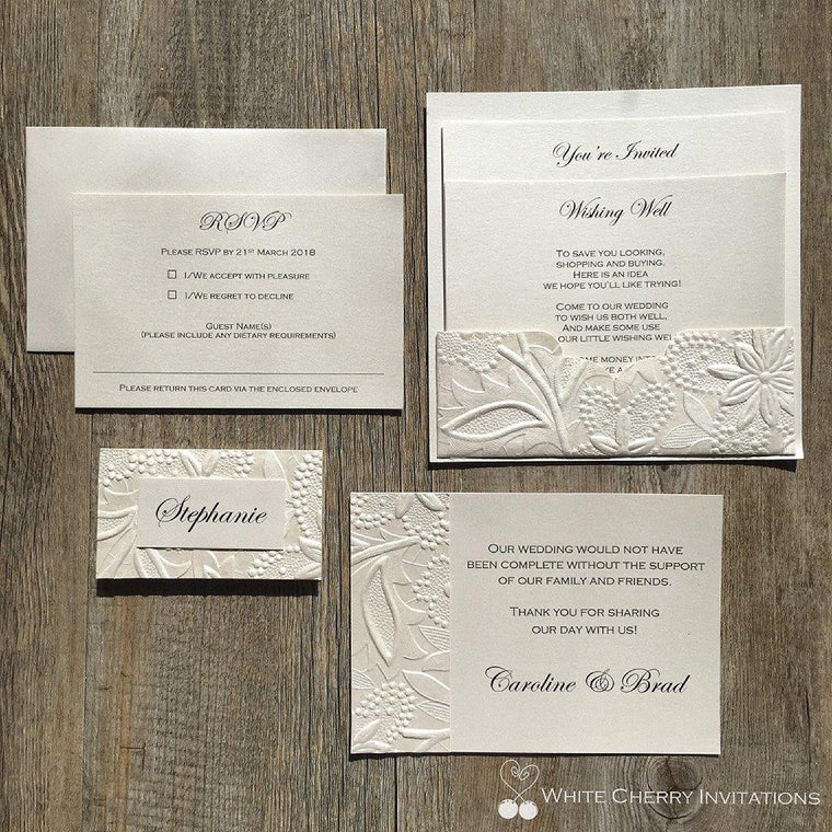 Eternity - Ivory Floral CLASSIC PACKAGE
