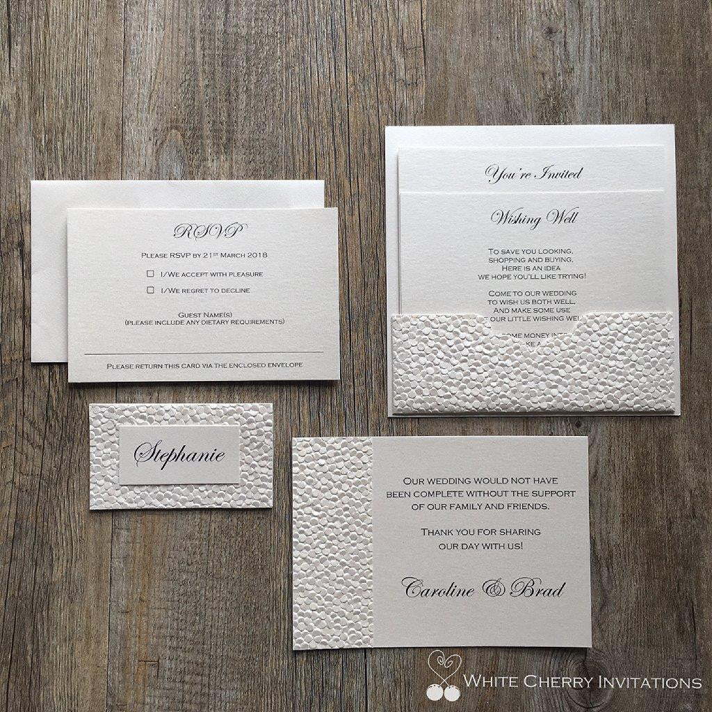 Classic Packages - White Cherry Invitations