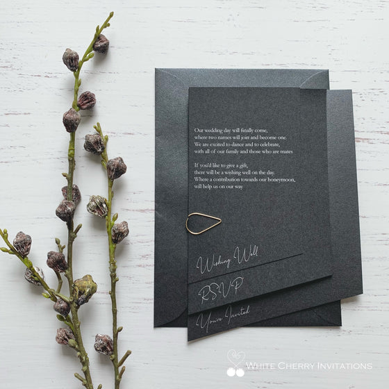 Arizona (Metallic Black) - INVITATION