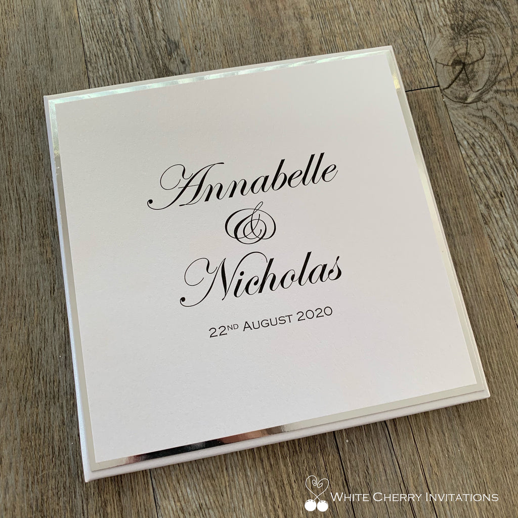 Moonrise -  HARDCOVER INVITATION