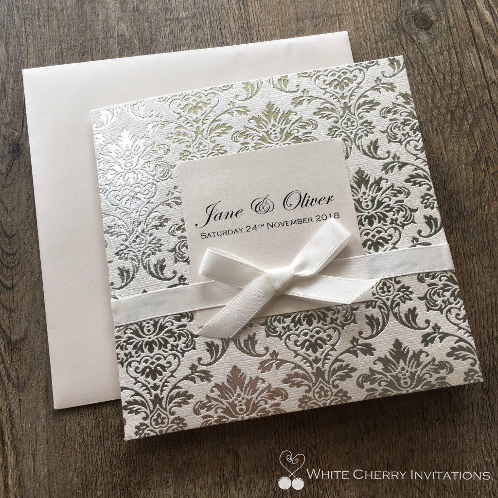 Save 15% - 20% OFF | Wedding Invitation Packages | White Cherry ...