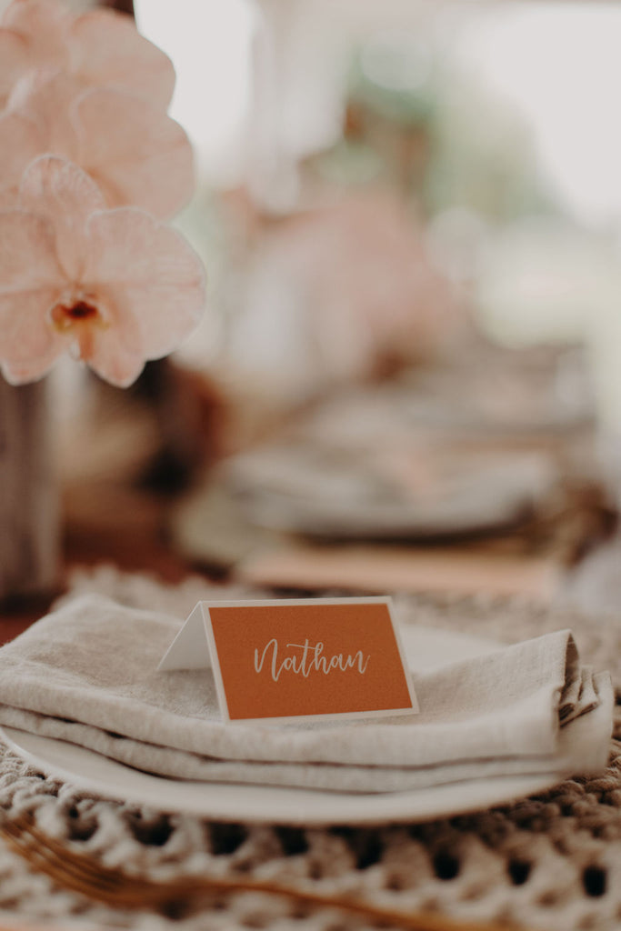 Tuscan - PLACE CARD