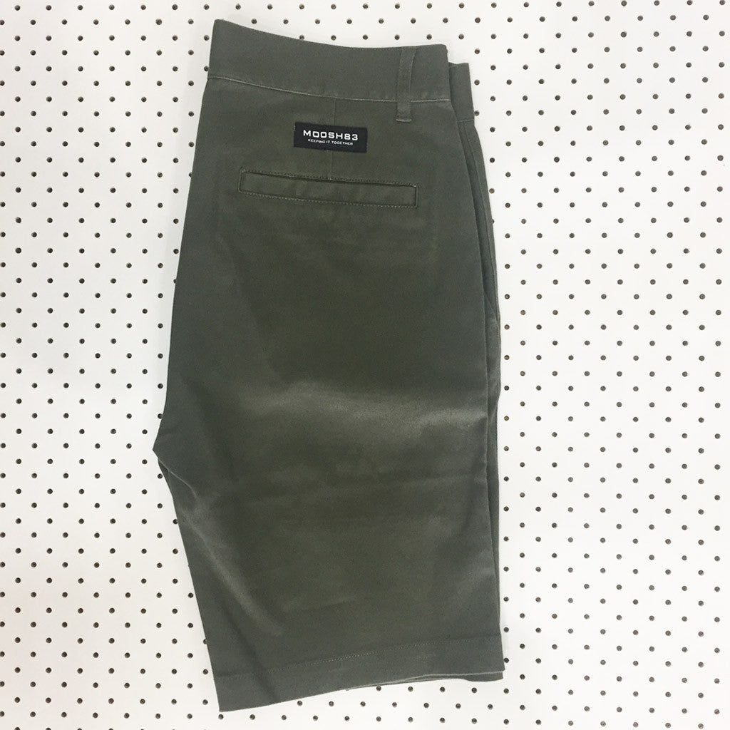 Moosh Short - Army Green