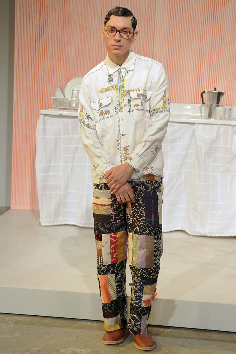 Bode at New York Fashion Week Men Male Fashion Trends
