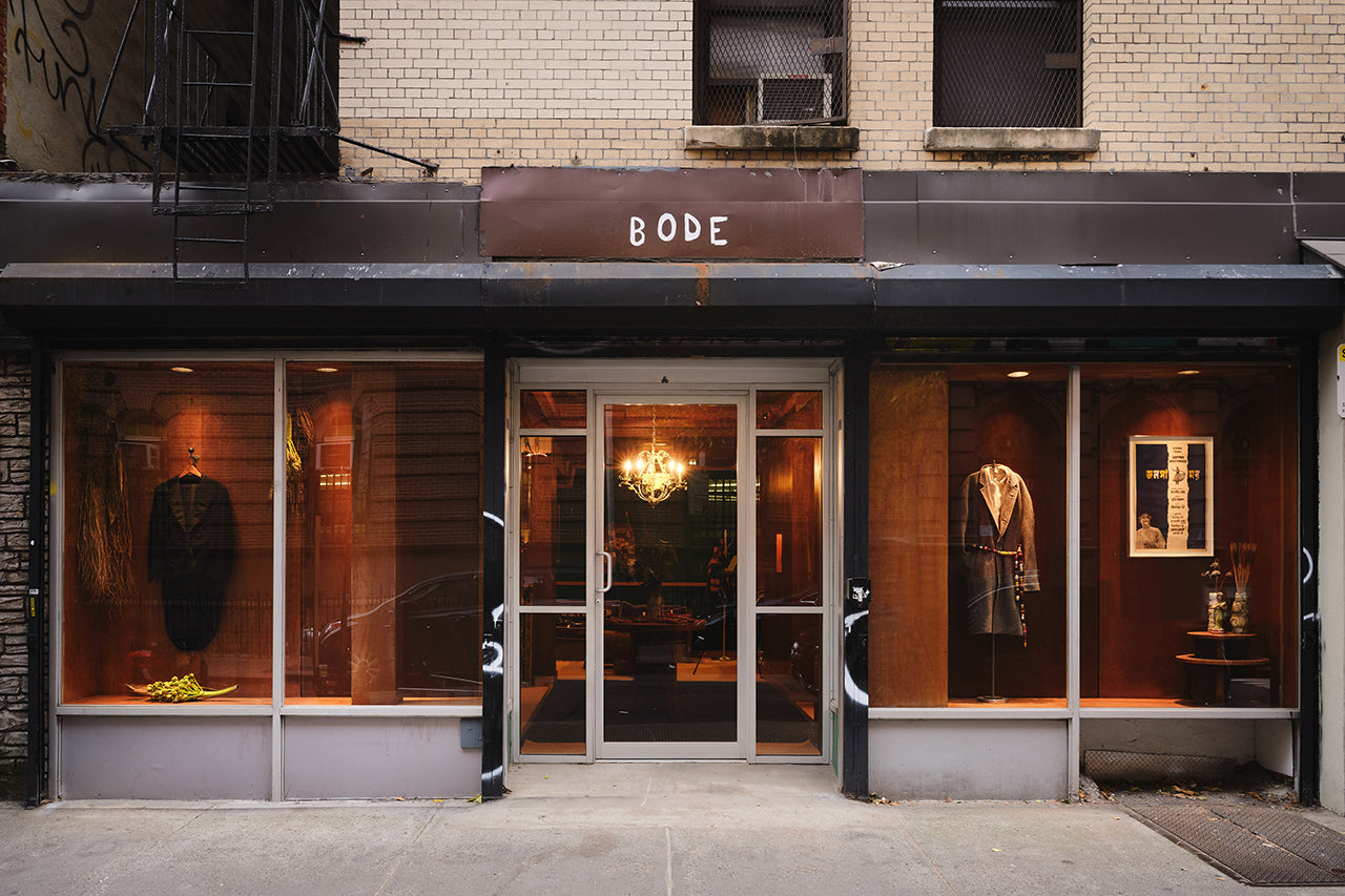 Bode Store Front