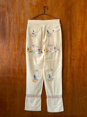 Sailing Tableau Trousers