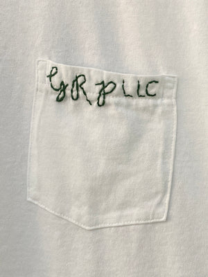 Green Pocket GRP Embroidered Tee