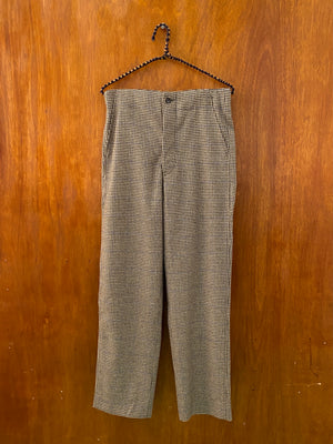 Houndstooth Workwear Trouser