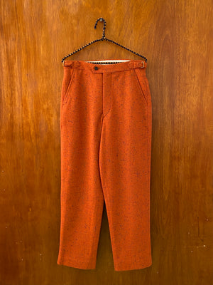 Orange Donegal Trouser