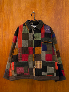 Moss Suiting Quilt Jacket - L/XL