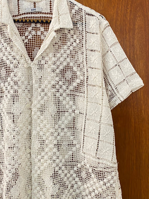 Seashell Lace Shirt - M/L