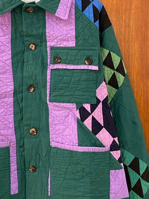 Emerald Signature Quilt Jacket - M/L