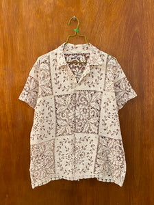 Square Vine Lace Shirt - S/M