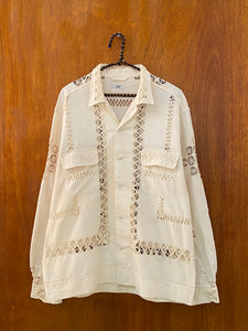 Rope Ladder Lace Shirt - L/XL