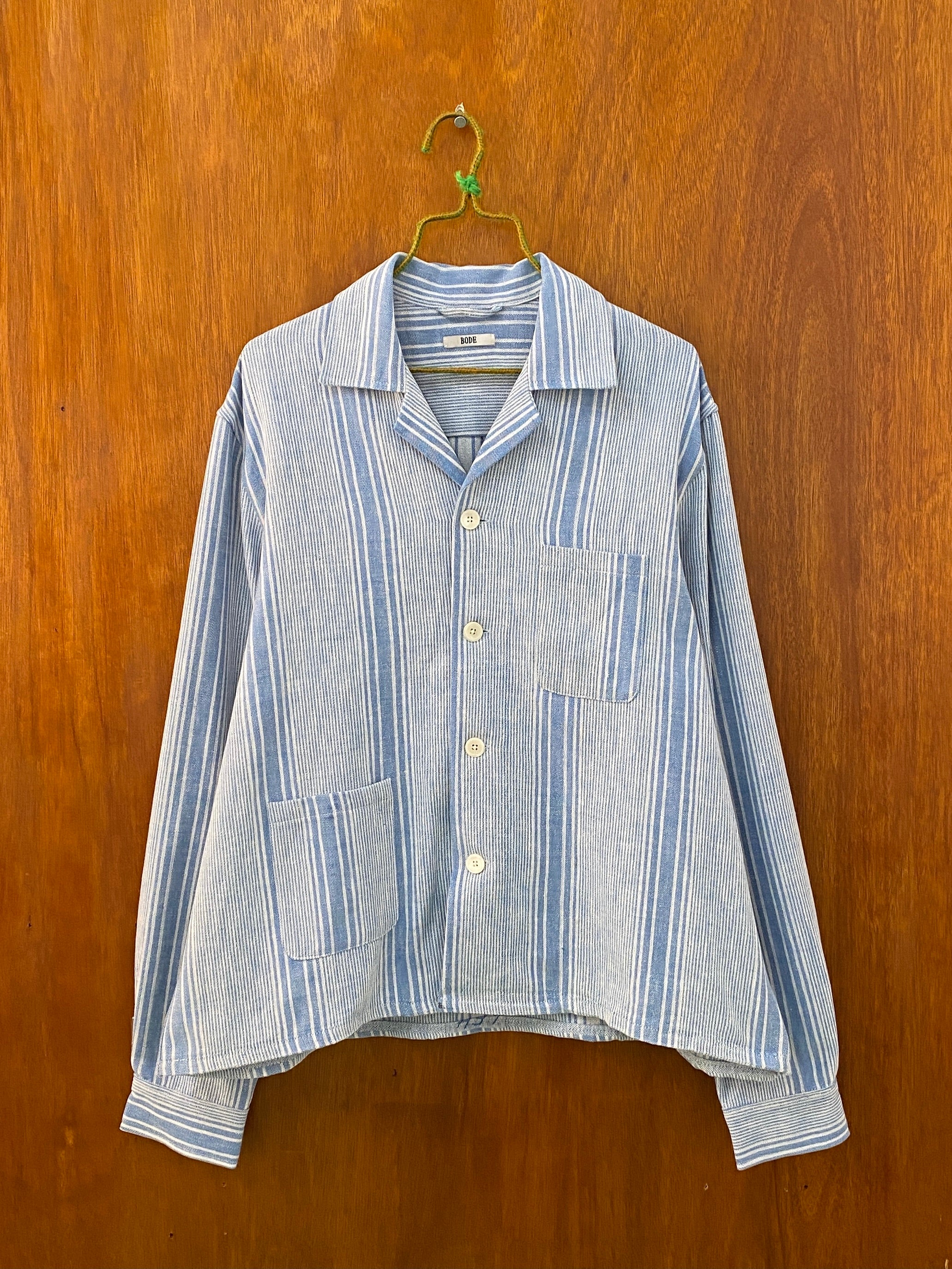 Pajama Stripe Overshirt - L/XL