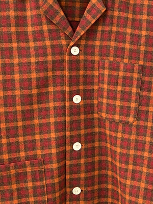 Hillsdale Sunset Plaid Overshirt