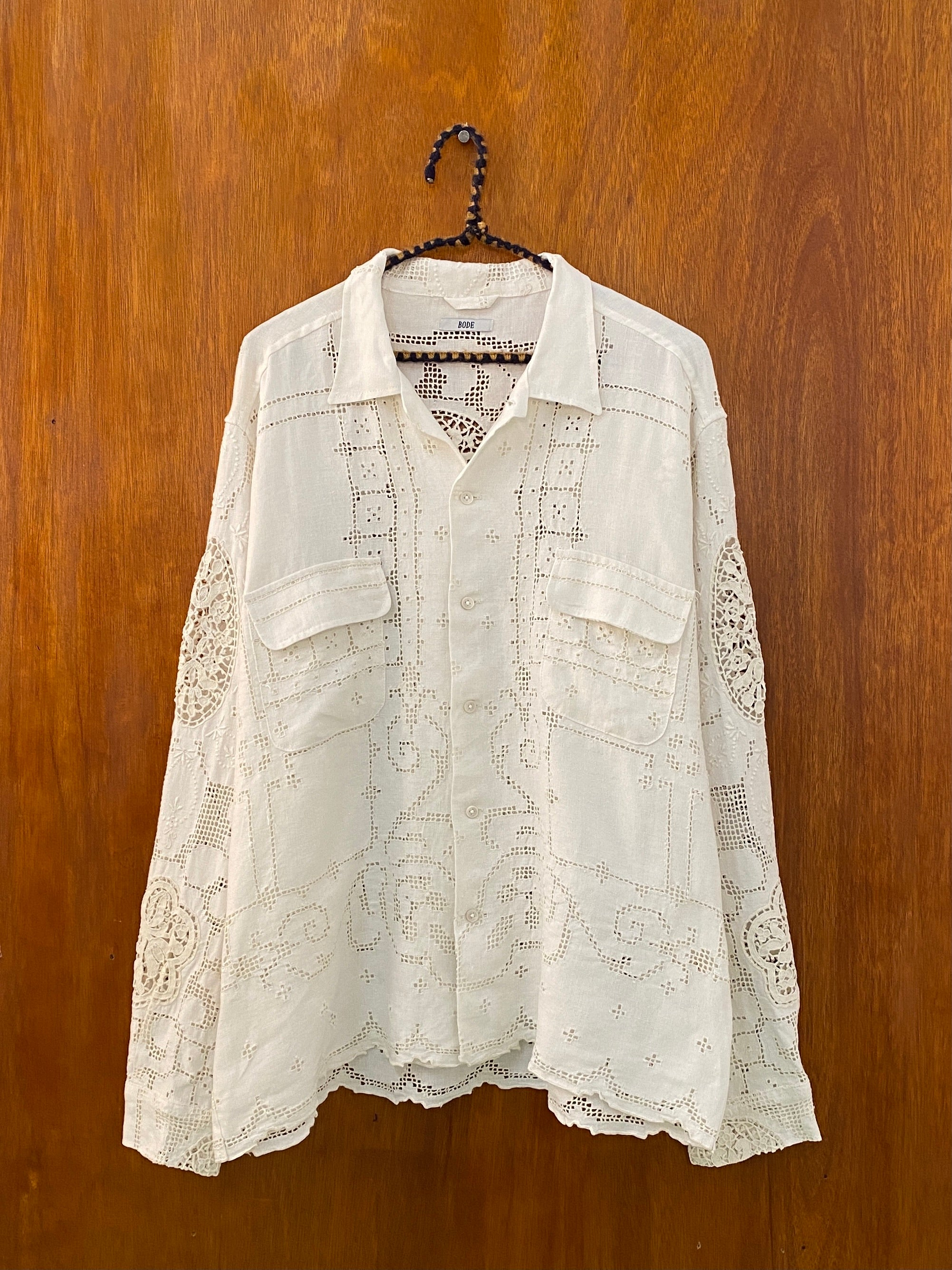 Window Lace Shirt - L/XL