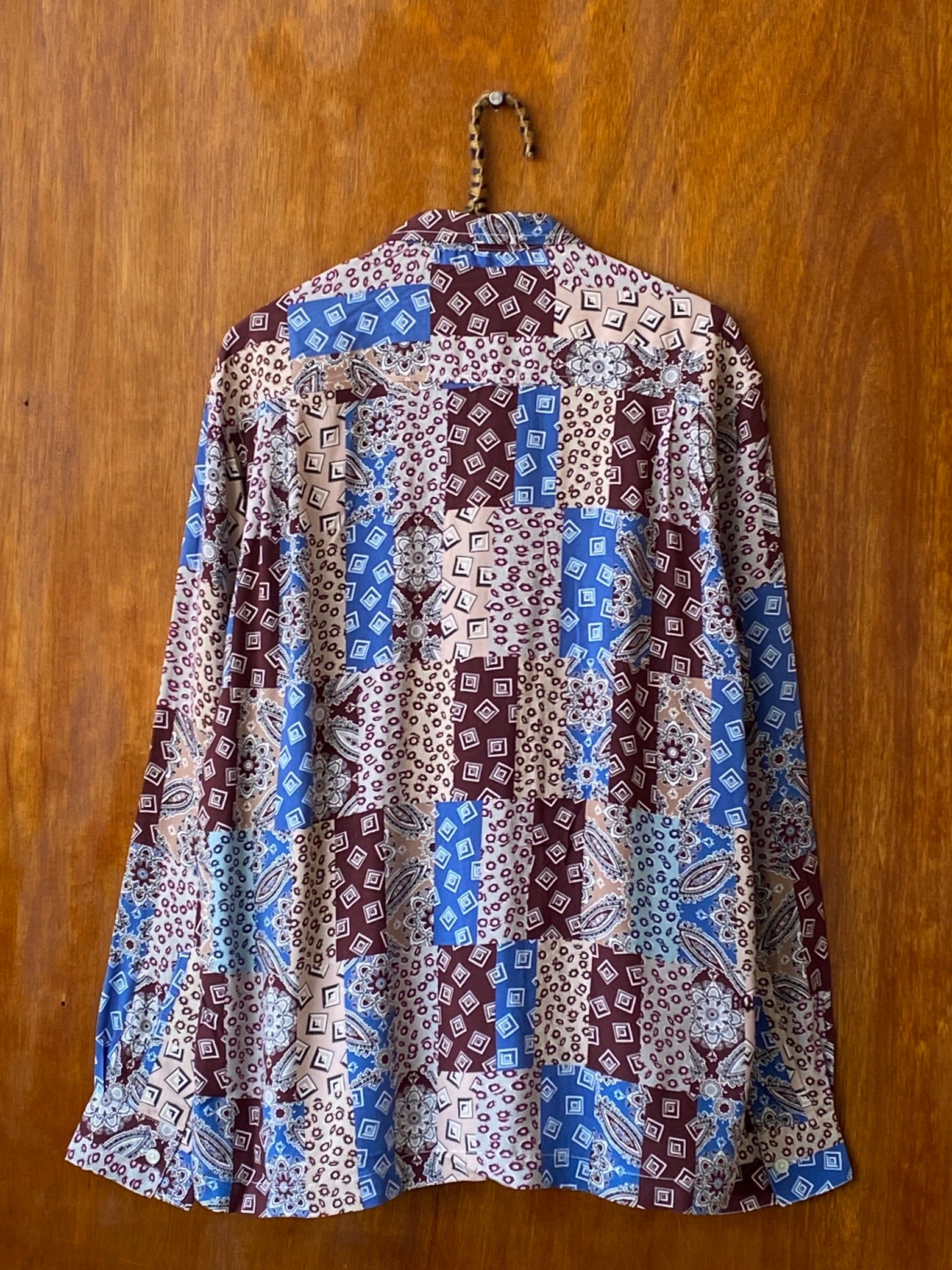 Eastern Paisley Patchwork Shirt