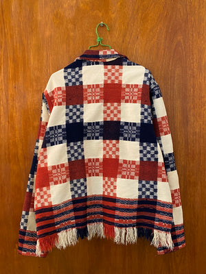 Checkerboard Coverlet Jacket - L/XL