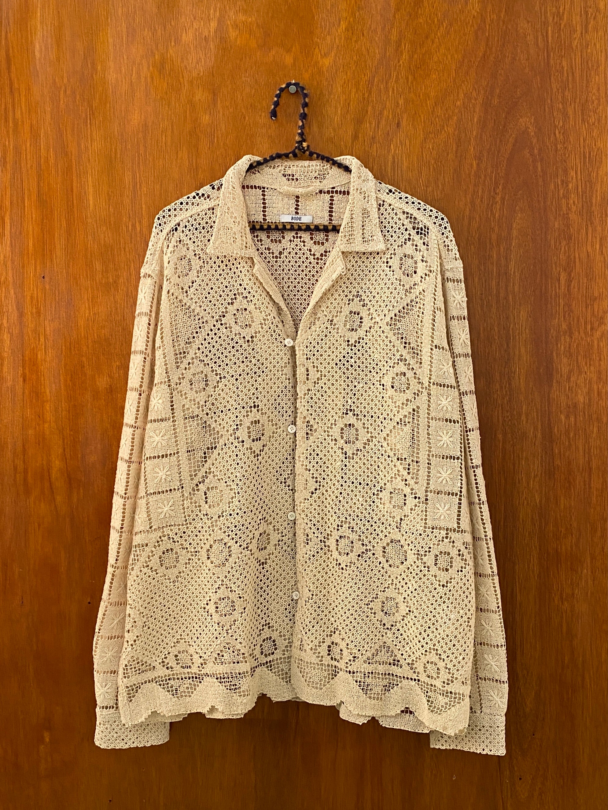 Hex Shell Lace Shirt - XL/XXL