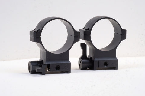 Heym/Martini Quick Detachable Scope Ring .6 High, 30mm