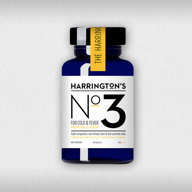 Harrington's No. 3 <BR> For Cold & Fever