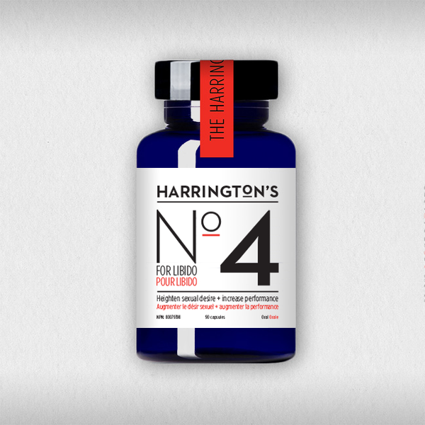 Harrington's No. 4 for the Libido NOW AVAILABLE!