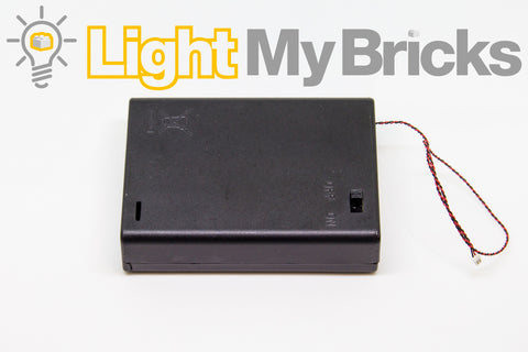 AA Battery Pack - Light My Bricks