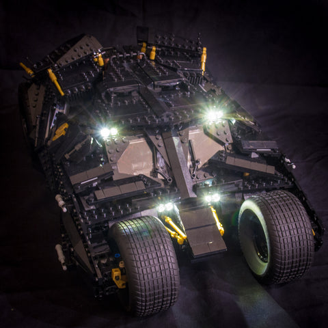 Batman Tumbler 76023 - Light My Bricks