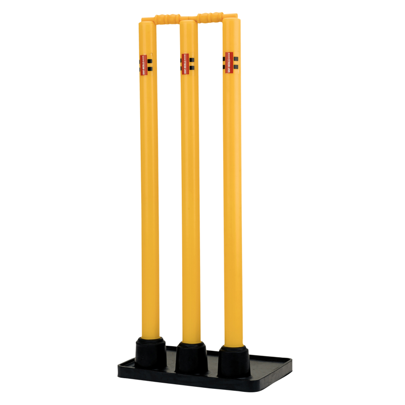 Plastic Stumps with Rubber Base