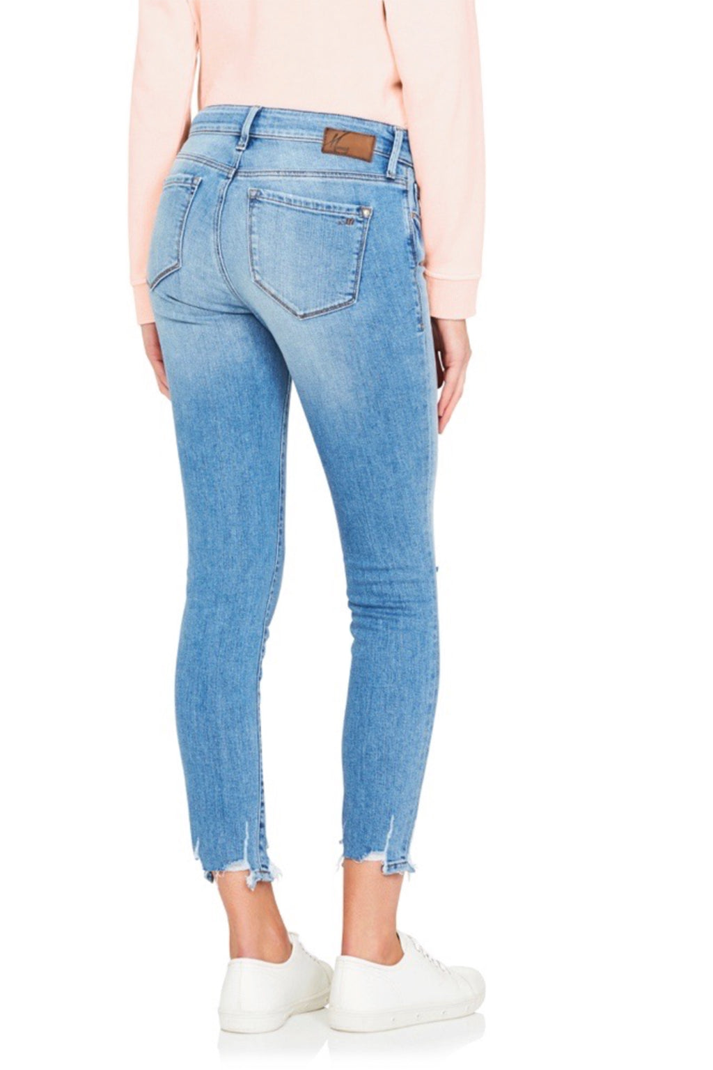 ALISSA Ankle Light Destructed Vintage Jeans