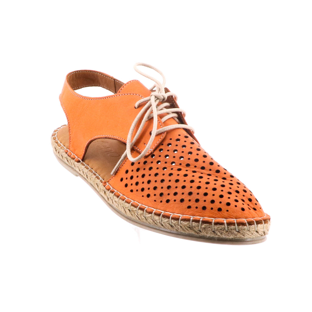 Bueno Shoes - Echuca Shoe - Orange Leather - Pizazz Boutique