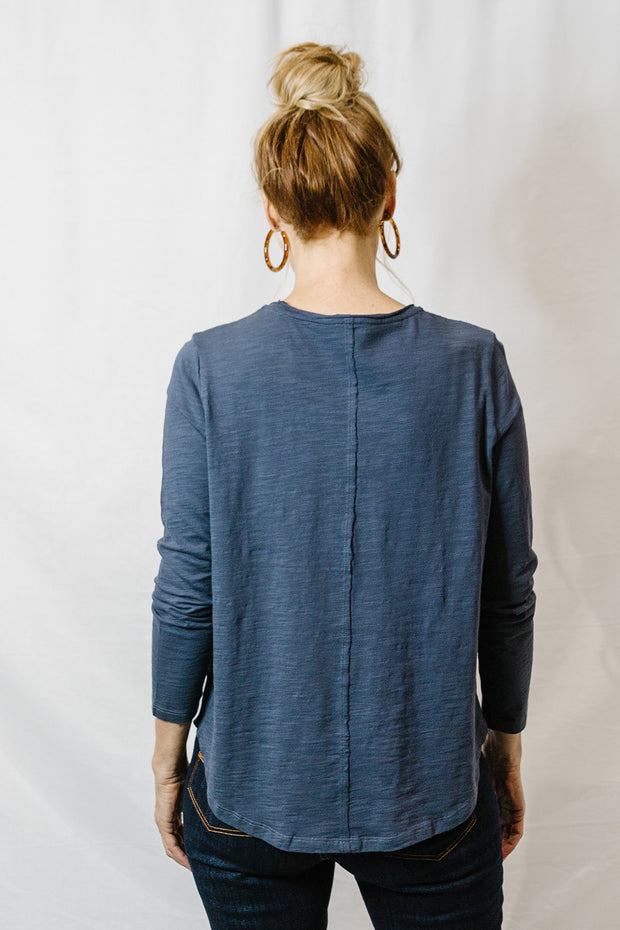 Long Sleeve Tee - Slate