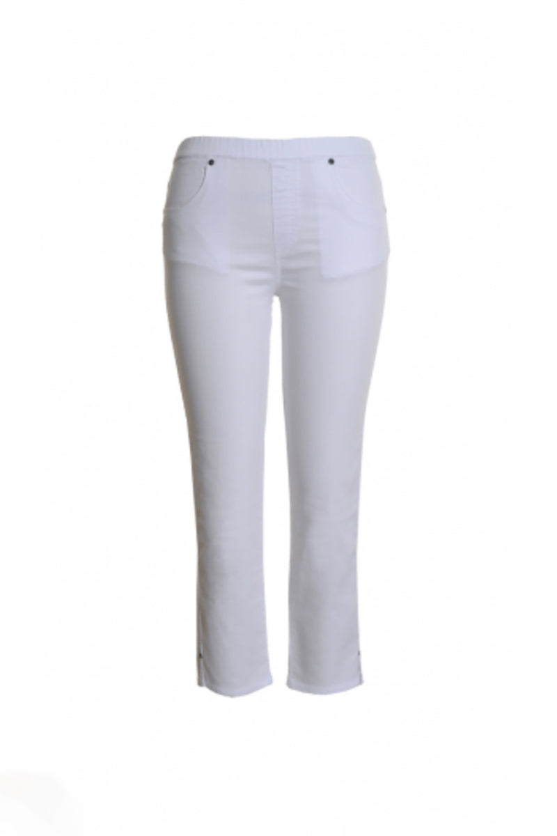 Cafe Latte - White Jean - White - Pizazz Boutique